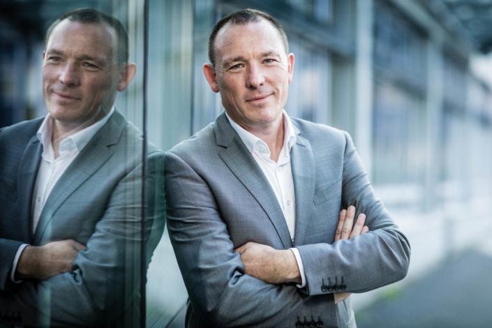 Business-Portrait, draussen, Bonn