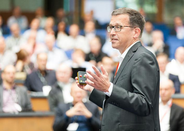 Veranstaltung in Bonn, Redner