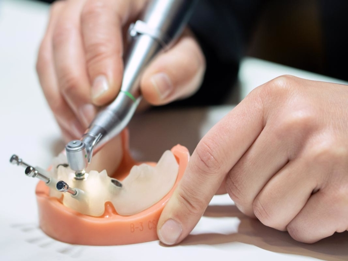 Zahnarzt Praxis, medizinische Geräte, Fotografie